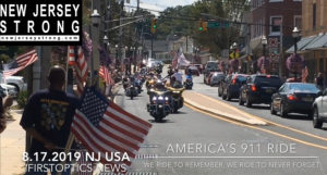 America's 911 Ride on way to WTC