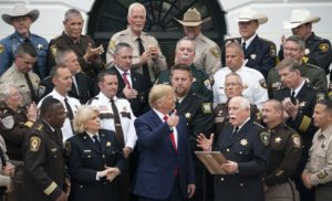President Donald J. Trump Visits with Sheriffs from Across the Nation