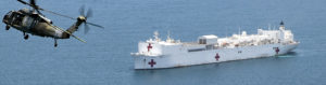 CORONAVIRUS PANDEMIC – USNS COMFORT DEPLOYS TO NYC